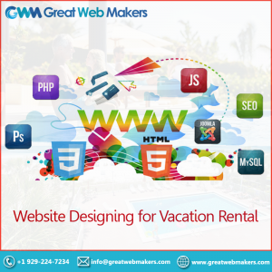 Website Designing and Development for Vacation Rentals