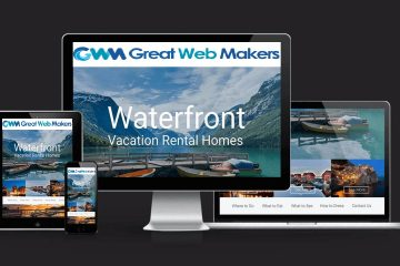 Personal Website for Vacation Rentals