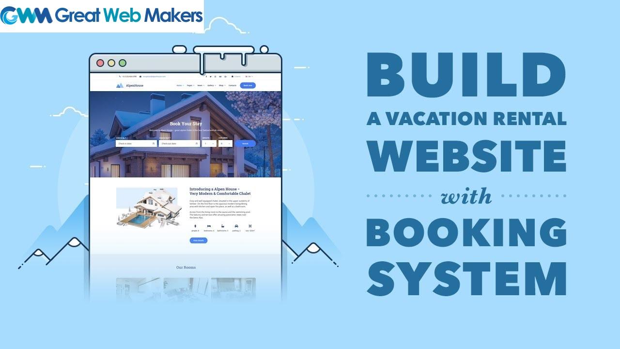 Website Designing for Vacation Rentals